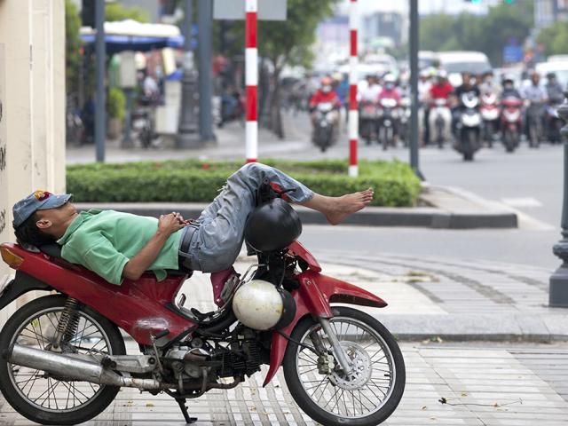 Život na Dva Kotača u Saigonu, Vietnam